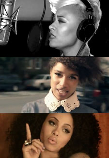 Emeli Sandé, Lianne La Havas and Elle Varner Photo by