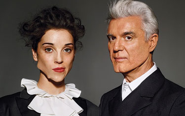 David Byrne & St. Vincent Photo by