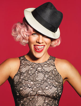 P!nk Photo by Andrew Macpherson