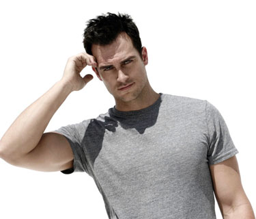 Cheyenne Jackson Photo by Karl Simone