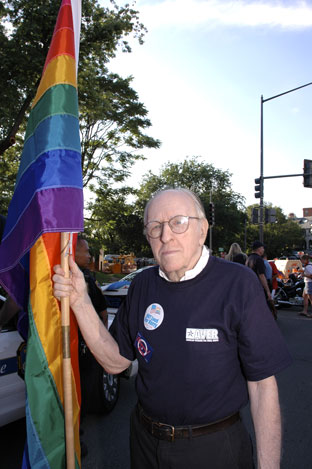 Frank Kameny Photo by File photo