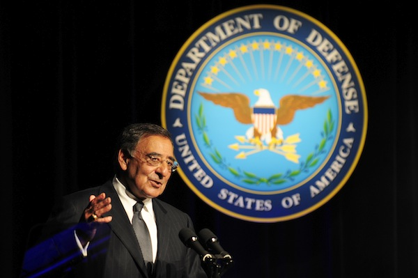 Tech. Sgt. Jacob N. Bailey, U.S. Air Force Leon Panetta.jpg
