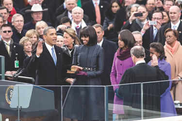 President Barack Obama's 2nd Inauguration Photo by