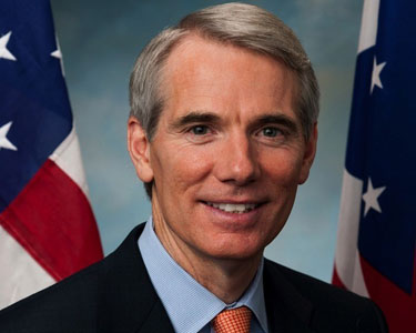 Change of heart: Sen. Rob Portman (R-Ohio) Photo by File photo