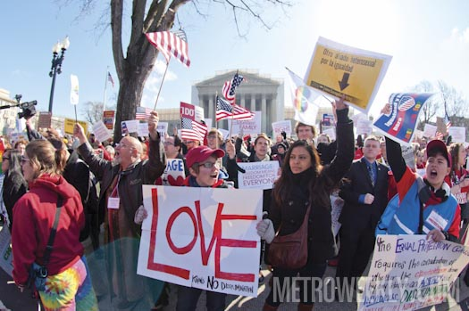 United for Marriage Photo by  Todd Franson
