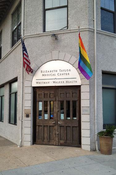 Whtiman-Walker Health's 14th Street location in Washington, D.C. Photo by JD Uy