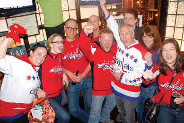 Pictures from PuckBuddies party or Patrick Burke Photo by