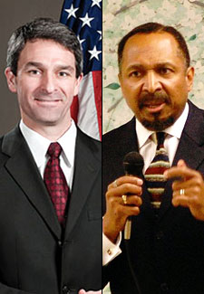 Ken Cuccinelli and E.W. Jackson  Photo by