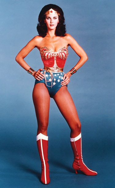 Lynda Carter as Wonder Woman Photo by courtesy of Lynda Carter