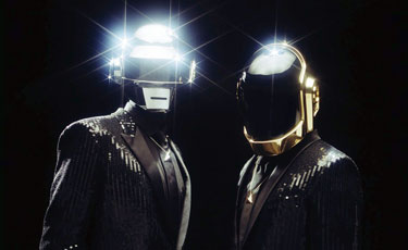 Daft Punk Photo by
