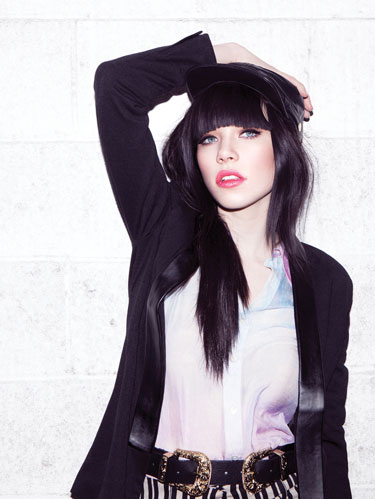 Carly Rae Jepsen Photo by Rob Hoffman