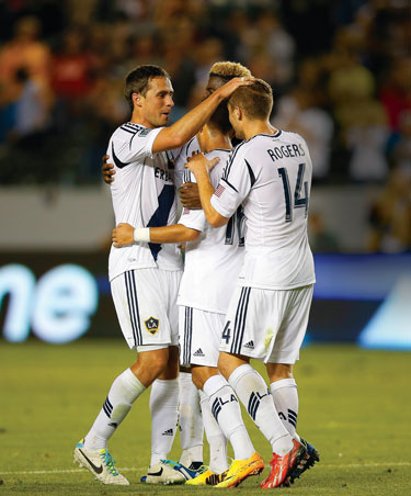 Robbie Rogers Photo by courtesy LA Galaxy