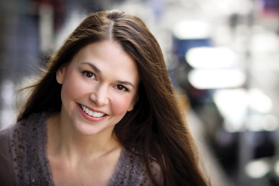 Sutton Foster Photo by courtesy Sutton Foster