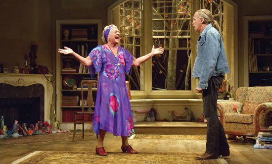 Velocity of Autumn: Estelle Parsons and Stephen Spinella Photo by Teresa Wood