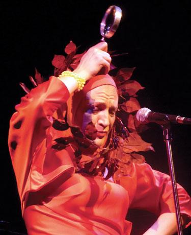 Edie Beale live at Reno Sweeney: Jeffrey Johnson Photo by Ron Leiberman