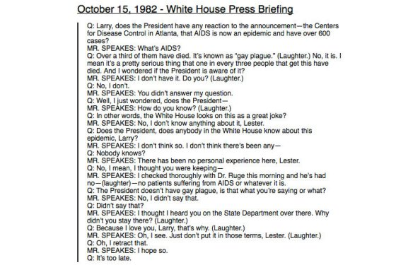 Transcript of 1982 White House press conference