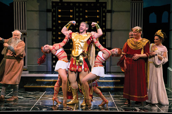 A Funny Thing Happened on the Way to the Forum Photo by T. Charles Erickson