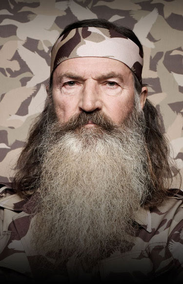 Phil Robertson of ''Duck Dynasty'' Photo by courtesy A&E