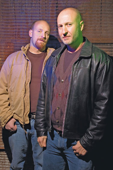 Rich Morel and Bob Mould Photo by Todd Franson