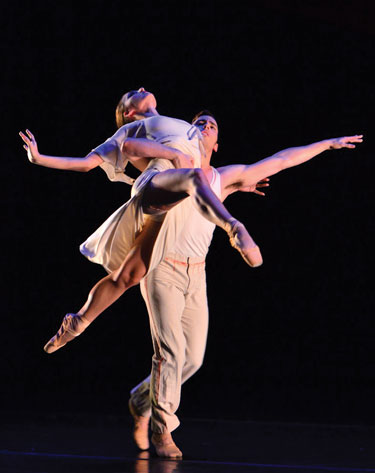 La Vie en Rose: Daniel Savetta and Esmiana Jani Photo by By Paul Emerson