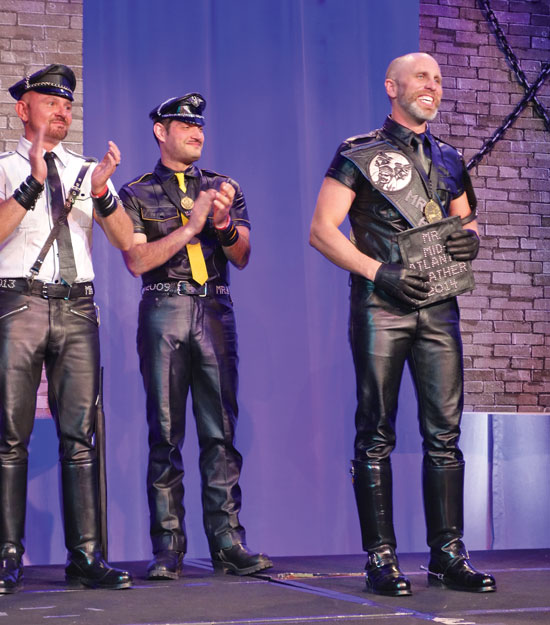 Mr. Mid-Atlantic Leather 2014 Photo by Todd Franson
