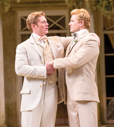 The Importance of Being Earnest Photo by Scott Suchman