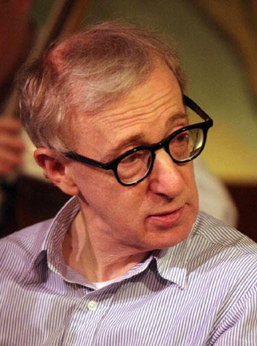 Woody Allen  Photo by Colin Swan / Wikimedia
