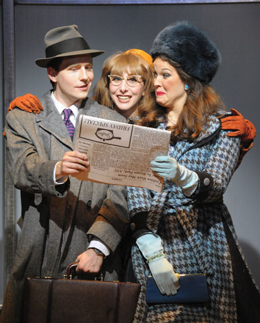Olney Theatre's ''How to Succeed in Business Without Really Trying'' Photo by Stan Barouh