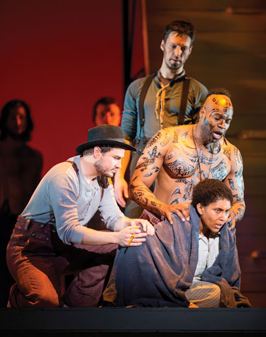 Moby Dick at Kennedy Center Photo by Scott Suchman for WNO