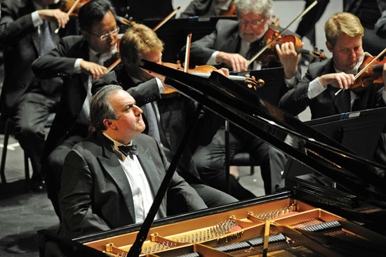 Yefim Bronfman Photo by Frank Stewart