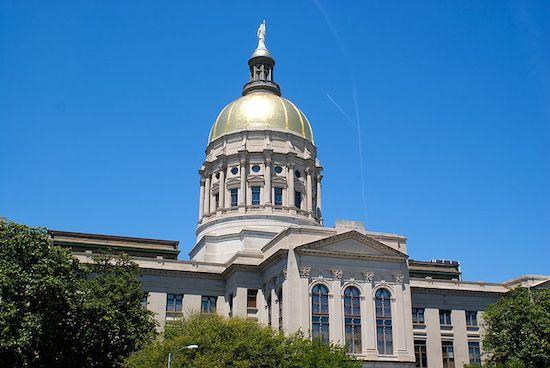 Georgia State Capitol (Photo: connor.carey, via Wikimedia.)
