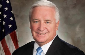 Photo: Tom Corbett. Credit. Governor's Office.