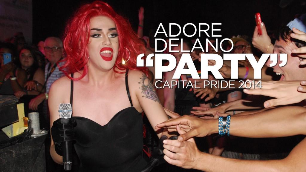 Adore Delano Party