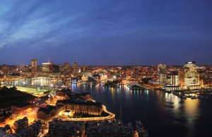 Baltimore Skyline Courtesy Visit Baltimor Photo by Dean Ray
