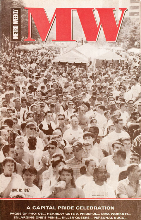 Capital Pride Festival cover June 12, 1997