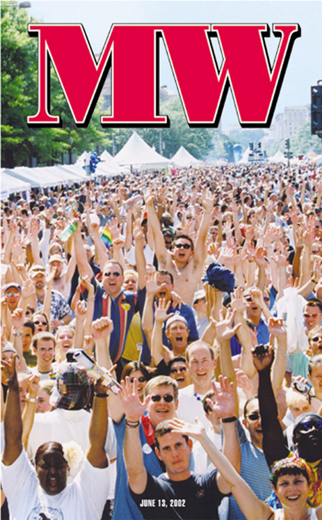 Capital Pride Festival cover June 13, 2002