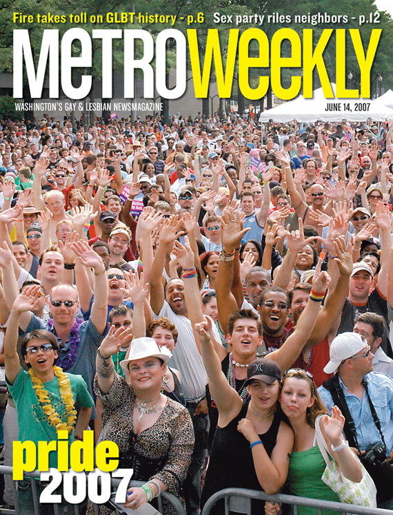 Capital Pride Festival cover June 14, 2007