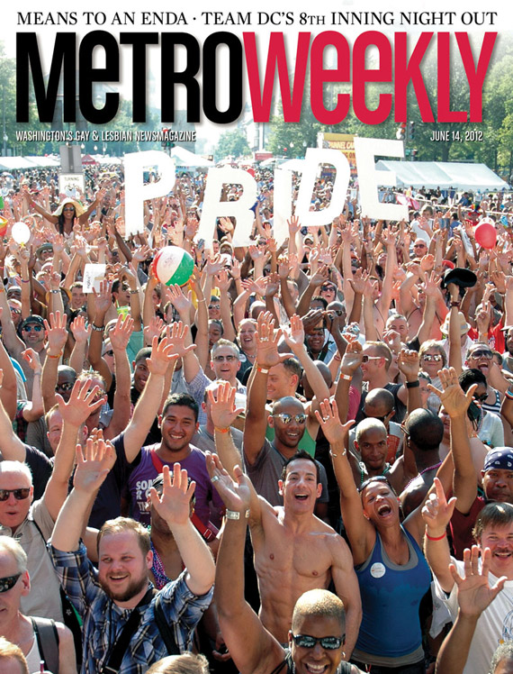 Capital Pride Festival cover June 14, 2012