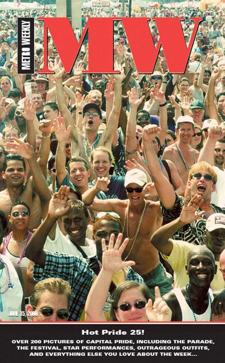 Capital Pride cover June 15, 2000