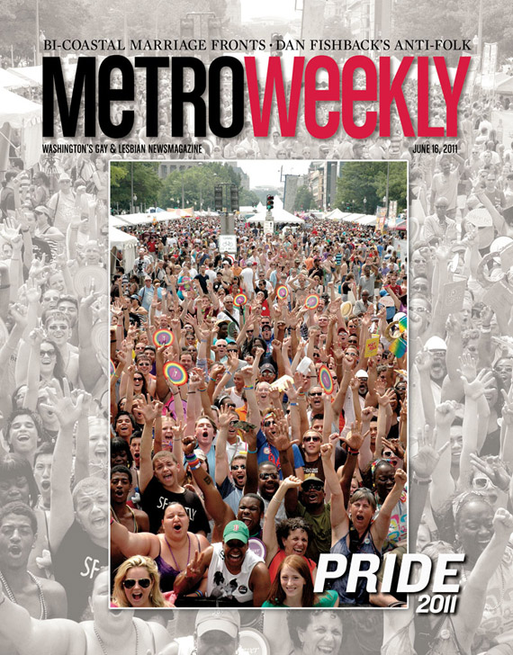 Capital Pride Festival cover June 16, 2011