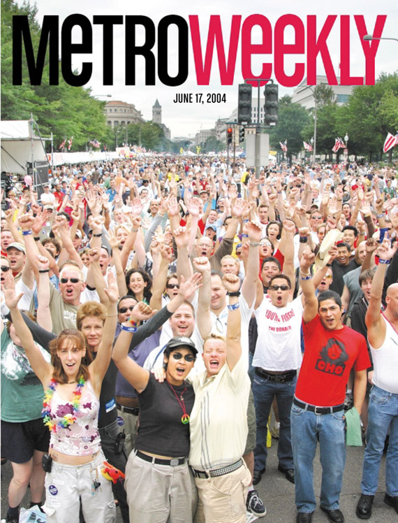 Capital Pride Festival cover June 17, 2004