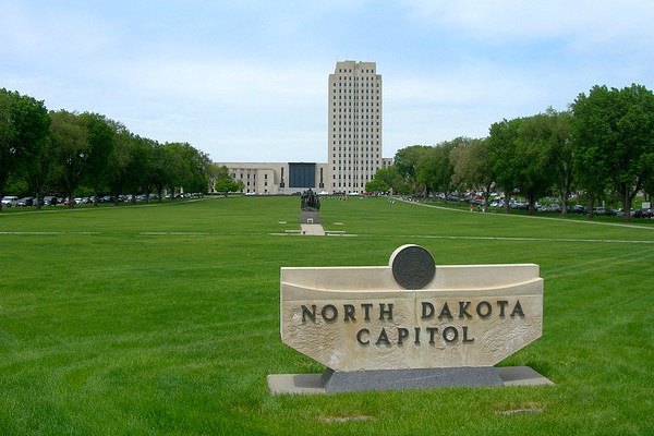 Photo: North Dakota State Capitol. Credit: Jimmy Emerson, DVM/flickr.