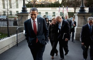 Photo: Barack Obama, Hillary Clinton and Joe Biden in 2009. Credit: Official White House Photo by Pete Souza.