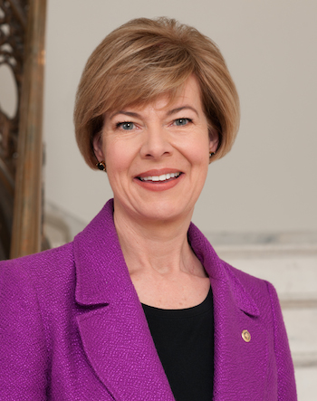 Photo: Tammy Baldwin. Credit: Official Senate portrait.