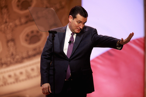 Photo: Ted Cruz. Credit: Gage Skidmore/flickr.