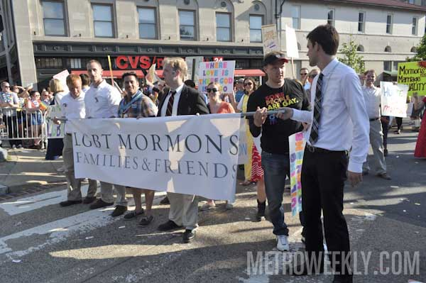 LGBT Mormons at Capital Pride Parade (Click for more photos)