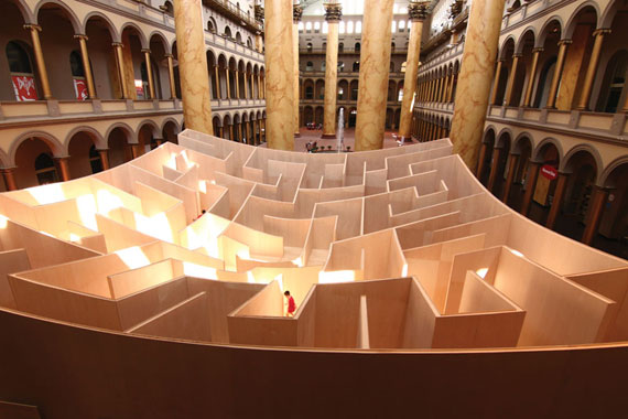 BIG Maze Photo by Aram Vartian