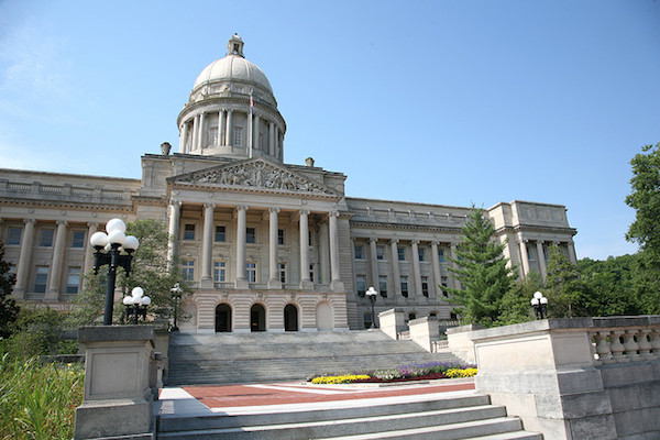Photo: Kentucky State Capitol. Credit: Scott Beale/flickr.