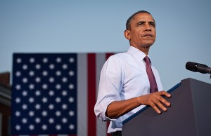 Photo: Barack Obama. Credit:  Christopher Dilts/Obama for America.