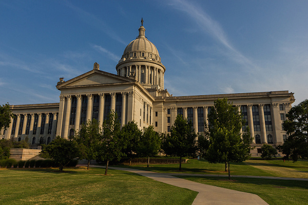 Photo: Oklahoma State Capitol. Credit: flickr.